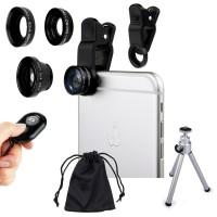 Balık Gözü Cep Telefonu Lensi Tüm Modellere Uyumlu