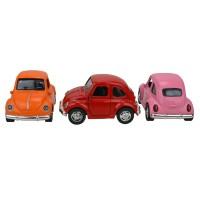 Beetle Vosvos Açılır Kapı Çek Bırak Oyuncak Metal Araba