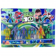 Ben10 Benten Uzaylıları 6lı Figür Oyuncak Karakter Seti