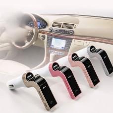 Bluetooth Araç Kiti G7 Fm Transmitter MP3 Player