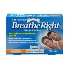 Breathe Right Burun Bandı İlaçsız Normal Boy