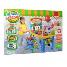 Büyük Eğitici Oyuncak Market Kasiyer Alışveriş Seti