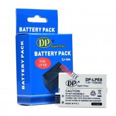 Canon LP E8 Batarya 700D 650D 600D 550D
