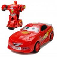 Cars Şimşek Mcqueen Robot Dönüşen Araba 21 Cm