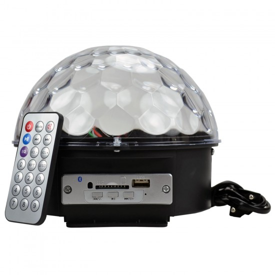 Disko Topu Küre Usb Işıklı Bluetooth Hoparlör
