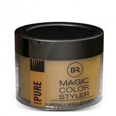 Altın Renkli Geçici Saç Boyası ve Saç Şekillendirici 100 Ml