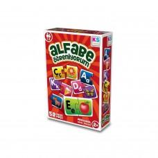 Eğitici Oyuncak Alfabe Öğreniyorum 58 Parça Yapboz Puzzle