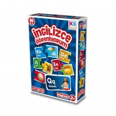 Eğitici Oyuncak İngilizce Öğreniyorum 52 Parça Puzzle Yapboz