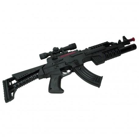 Eps-01 Erdem Oyuncak Pilli Işıklı Silah Taramalı 58cm