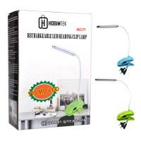 Esnek Şarjlı Klipsli 2 Kademeli USB SMD LED Masa Lambası