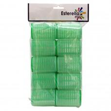 Esterella 8245 Yapışkan Bigudi Büyük Bukleler