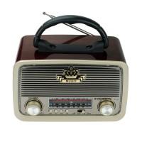 Everton RT-301 Vintage Bluetootlu Nostaljik Radyo Ahşap Şarjlı