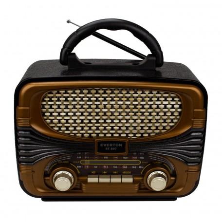 Everton RT-807 Bluetooth Radyo Nostaljik USB Şarjlı 20cm