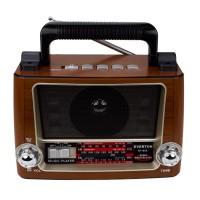 Everton RT-855 Radyo Nostaljik USB Şarjlı Işıklı 20cm