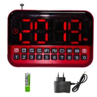 Everton VT-3056 Radyo Dijital Alarm Masa Saati ve Müzik Kutusu