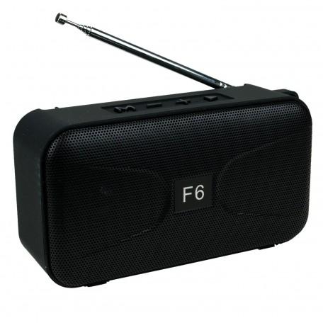 F6 Bluetooth Hoparlör Radyolu ve Bataryalı