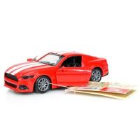 Ford Mustang Metal Kasa Oyuncak Açılan Kapı Çek Bırak 12Cm