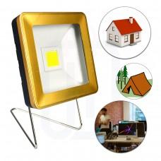 Güneş Enerjili Süper LED Işıldak Aplik Ev - Ofis - Kamp
