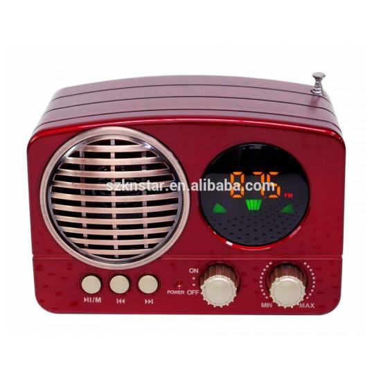 Meier M-163BT Bluetooth Radyo Müzik Kutusu MP3 14 Cm