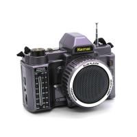 Kemai MD-V8BT Dslr Kamera Görünümlü Bluetooth Portatif Radyo