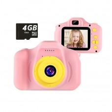 Hobimtek 3-10 Yaş Kırılmaz Çocuk Kamerası 1080p 2 İnç