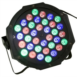 Hobimtek 36 LED Profesyonel Disko Flat Par Işık Sese Duyarlı