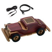Hobimtek AS60 Wireless Hoparlör USB Classic Vintage Car