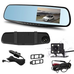 Hobimtek Araç Dikiz Aynası Çift Kameralı Hareket Sensörlü