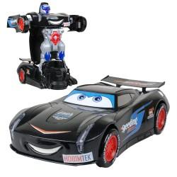 HT-76 Dönüşen Robot Araba Cars Şimşek Maqquin Jackson Storm