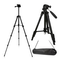 Hobimtek Fotoğraf Asansörlü Dslr Video Tripod 140cm Alüminyum
