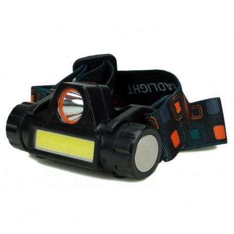Hobimtek H1 LED Kafa Lambası Şarjlı Mıknatıslı Çift Işık