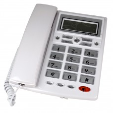 Hobimtek IR-73 Ekranlı Kablolu Telefon