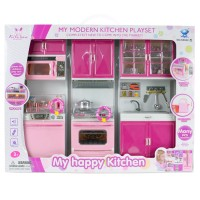 Hobimtek Oyuncak 66042-3 Modern Mutfak Seti