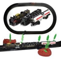 Hobimtek Oyuncak Klasik Raylı Tren Seti 34 Parça 555 Cm
