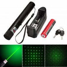 Hobimtek Profesyonel Şarjlı Yeşil Laser Pointer 15 Km Etkili