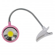 Hobimtek XL-268 Pilli Akrobat Klipsli Mandallı LED Lamba