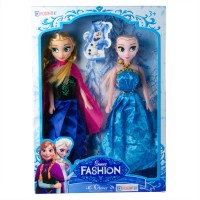 Hobtoys Frozen Elsa Fashion Elbiseli Oyuncak Bebek Seti 29 Cm