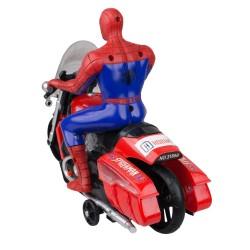 Hobtoys Motosikletli Spiderman Oyuncak Işıklı Sesli Hareketli