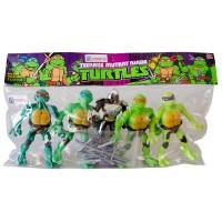 Hobtoys Ninja Kaplumbağalar 5li Oyuncak Seti v2