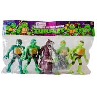 Hobtoys Ninja Kaplumbağalar 5li Oyuncak Seti