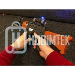 Hobtoys Oyuncak Lazerli Tüfek Işıklı Sesli 60 Cm Büyük Boy