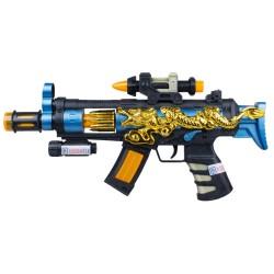 Hobtoys Oyuncak Taramalı Silah Ejderhalı Hareketli Işıklı 34 Cm