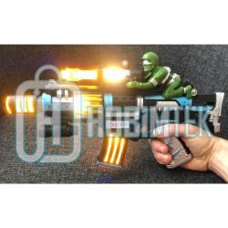 Hobtoys Oyuncak Taramalı Silah Hareketli Işıklı Asker Figürlü 35 Cm