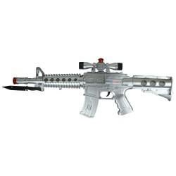 Hobimtek Oyuncak Silah Işıklı Sesli 56 Cm Büyük Boy