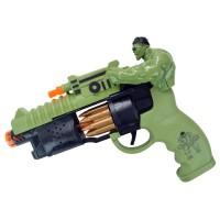Hulk Oyuncak Akrep Silah Taramalı Tabanca 24 Cm