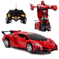 Hurtling Arez Şarjlı Drift Oyuncak Araba Dönüşen Robot