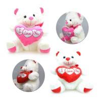 I Love You Pelüş Kalpli Ayıcık 37 Cm