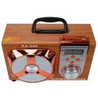 KA-A06 Bluetooth FM Radyo Şarjlı