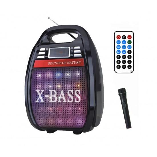 KNSTAR RX-810BT Taşınabilir Müzik Sistemi Bluetooth Karaoke