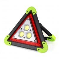 LL-303 LED Taşınabilir Üçgen Uyarı Işığı Şarjlı